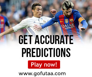 Here are 7 Correct Score Matches that will you 425,000 Today
